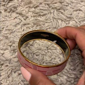 Hermes Jewelry - Hermès Bangle - 65 large circuit ubourg w/ gold.